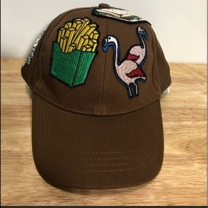Zara Man French Fries Flamengo Patches Hat